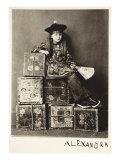 Alexandra Kitchen as 'A Chinaman'  14th July 1873