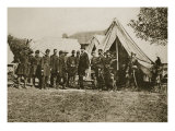President Lincoln Visiting the Camp at Antietam  1892