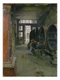 In the Vinegar Factory in Hamburg  1891