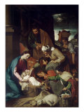 Adoration of the Shepherds  1630