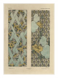 Floral Patterns  from 'Fantaisies Decoratives'  engraved by Gillot  Librairie de l'Art  Paris  1887