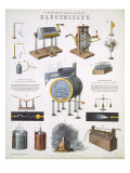 Electricity  illustrations of Natural Philosophy  published in 'Popular Diagrams'
