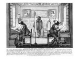 Plate Engravers Working with Gallery Behind  1643