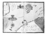 Map No10 showing the route of the Armada fleet  engraved by Augustine Ryther  1588