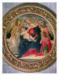 Madonna and Child with Angels and St John