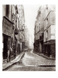 Rue Aumaire  from the Rue Volta  Paris  1858-78