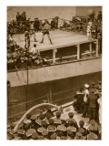 Boxing Competition Aboard a Warship  with the Crew of Second Ship as Additional Spectators  1914-19