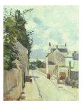 Rue de l'Ermitage  Pontoise  1874