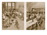 Day Nursery for the Babies of Munition Workers  1914-19