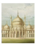 Exterior of the Saloon from Views of the Royal Pavilion  Brighton by John Nash  1826