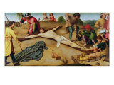 Christ Nailed to the Cross  1481