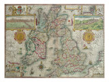 Map of the Kingdom of Great Britain and Ireland  1610