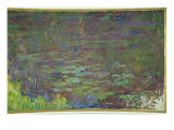 Waterlilies at Sunset  Detail  1915-26