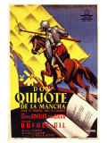 Don Quixote  Spanish Movie Poster  1934