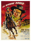Red River  French Movie Poster  1948