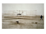 The Wright Brothers Making their First Powered Flight  17th December  1903