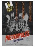 Metropolis  Japanese Movie Poster  1926
