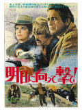 Butch Cassidy and the Sundance Kid  Japanese Movie Poster  1969