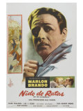 On the Waterfront  Argentine Movie Poster  1954