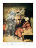 Scrooge and The Ghost of Marley  from Dickens&#39; &#39;A Christmas Carol&#39;