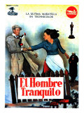 The Quiet Man  Spanish Movie Poster  1952