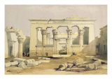 Portico of the Temple of Kalabshah  from &quot;Egypt and Nubia&quot;  Vol1
