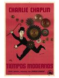 Modern Times  Argentine Movie Poster  1936