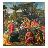 The Adoration of the Magi  1496