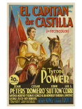 Captain From Castile  Spanish Movie Poster  1947