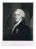 Portrait of Thomas McKean  engraved by Thomas B Welch