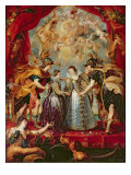 The Medici Cycle: Exchange of the Two Princesses of France and Spain  9th November 1615  1621-25