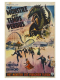 The Beast From 20 000 Fathoms  Belgian Movie Poster  1953