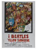 Yellow Submarine  Italian Movie Poster  1968