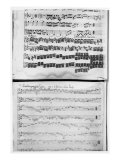 Music Score for Telemann&#39;s Suite for Two Violins  the &#39;Gulliver Suite&#39;  Including the &#39;Chaconne of 