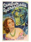 Wuthering Heights  Argentine Movie Poster  1939