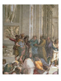 School of Athens  from the Stanza della Segnatura  1510-11