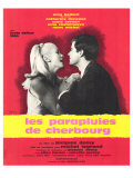 The Umbrellas of Cherbourg  French Movie Poster  1964