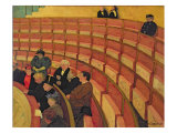 The Upper Circle at the Theatre du Chatelet  1895