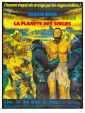 Planet of the Apes  French Movie Poster  1968