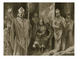 The Oration of Hubert Walter  Archbishop of Canterbury  at Coronation of John  Ascension Day