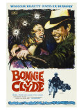 Bonnie and Clyde  Spanish Movie Poster  1967