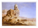 Tombs of the Khalifs  Cairo  1871