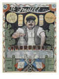 14th July  the Wine Merchant  Cover Illustration from 'L'Assiette Au Beurre'  11th July 1901