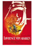 Lawrence of Arabia  German Movie Poster  1963