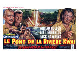 Bridge on the River Kwai  Belgian Movie Poster  1958