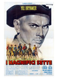 The Magnificent Seven  Italian Movie Poster  1960