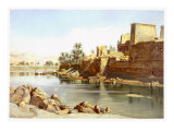 Temple of Isis at Philae  1870