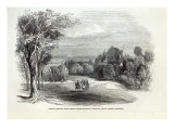 Schloss Rosenau  near Coburg  from 'The Illustrated London News'  30th August 1845