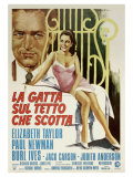 Cat On a Hot Tin Roof  Italian Movie Poster  1958