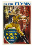The Adventures of Robin Hood  UK Movie Poster  1938